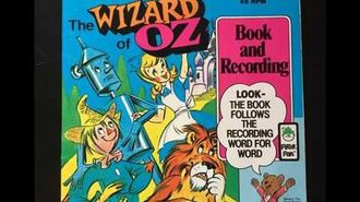 The Wizard of Oz - Read Along Book and Record - Peter Pan (1981)