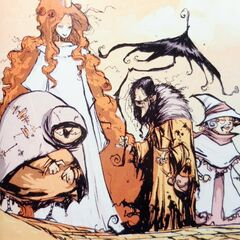 Glinda with the Witches of Oz. By Skottie Young.