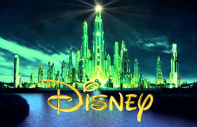Disney Emerald City Logo Still