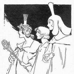 Glinda, Ozma & Dorothy by John R. Neill