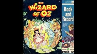 The Wizard Of Oz - Peter Pan Book and Record-1