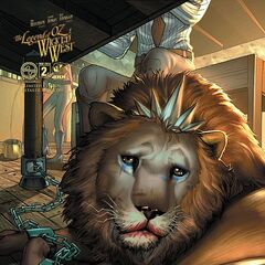 The lion in The Legend of Oz: Wicked West comic