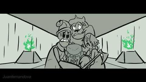 """Meeting the Wizard"" - a Wizard of Oz Re-Animatic"