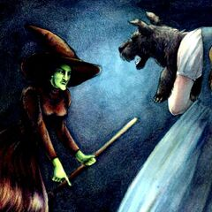 The Wicked Witch and Dorothy.