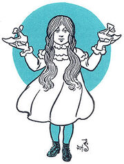 250px-Dorothy Gale with silver shoes
