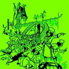 Jinjur and her girls raid the Emerald City!