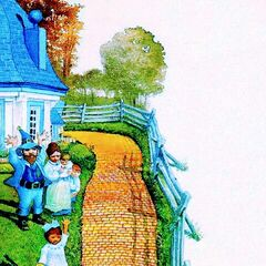 Yellow Brick Road by Charles Santore