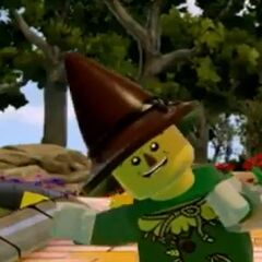 The Scarecrow in LEGO Dimensions