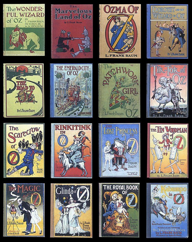 The Complete L. Frank Baum Collection (33 books)