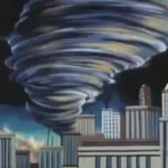 Planet of Oz - Tornado in Metropolis