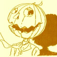 Jack Pumpkinhead by John R. Neill.