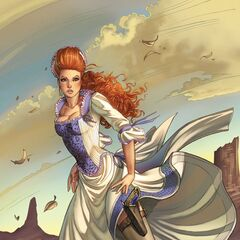 Glinda in The Legend of Oz: Wicked West comic