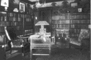 Ozcot, Hollywood, California library 1911