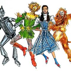 <b>Art Designs from The Wizard of Oz On Ice</b>