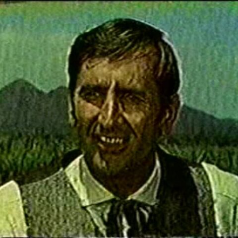Conlan Carter as L. Frank Baum in the <i>Death Valley Days</i> episode