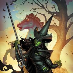 The Wicked Witch of West in <i>The Legend of Oz: Wicked West</i> comic