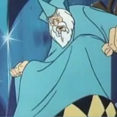 The Wizard in the Super Friends episode