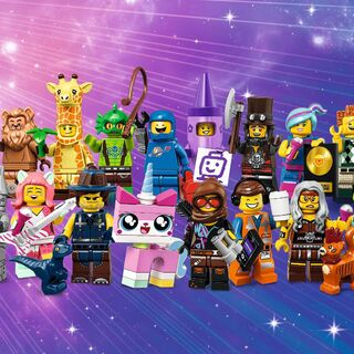 Group Shot of the Collectible Minifigures