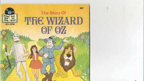 Story of The Wizard Of Oz.