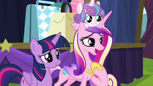 Cadance the way you two work together S8E19