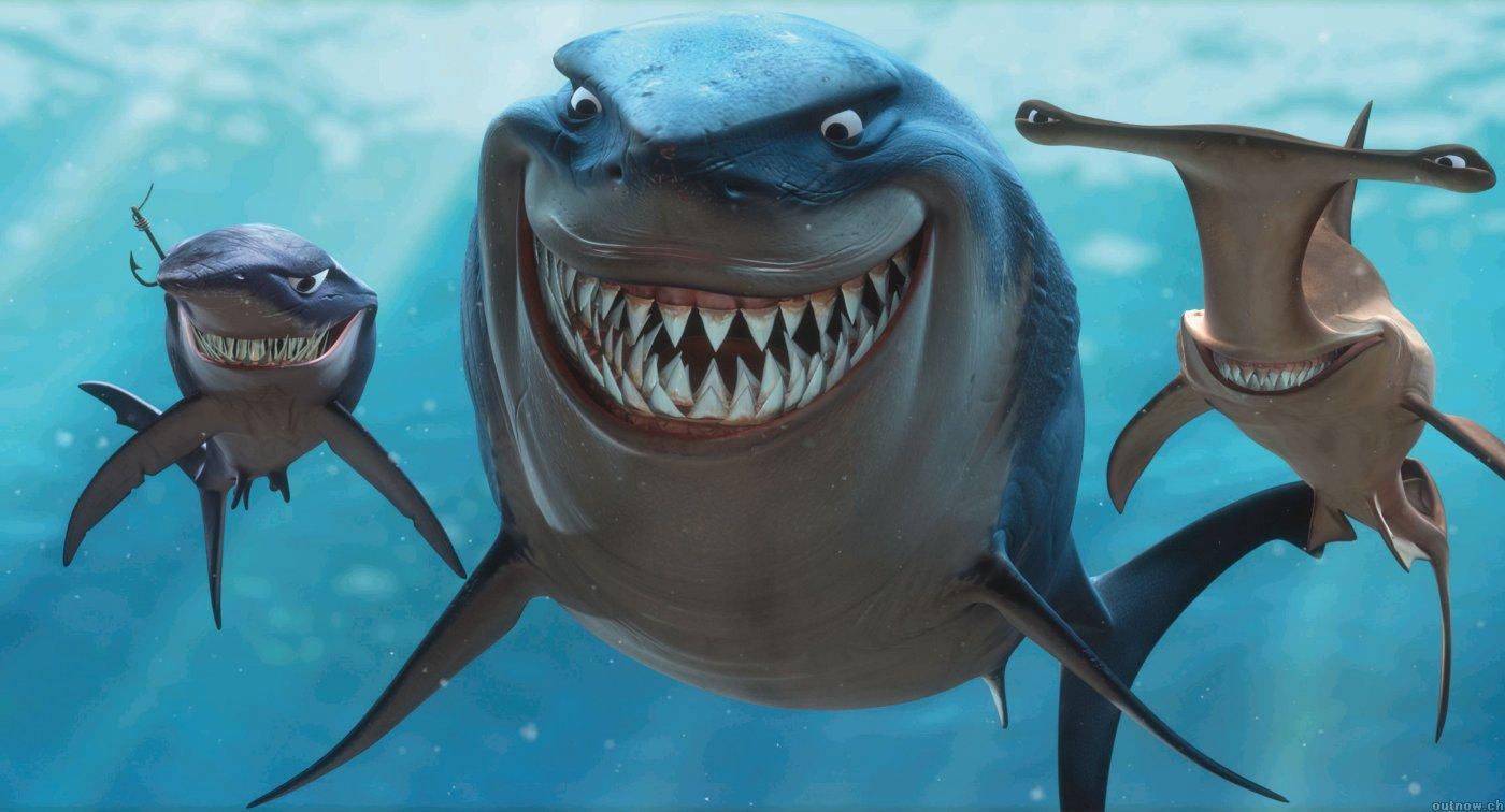 Image result for finding nemo shark