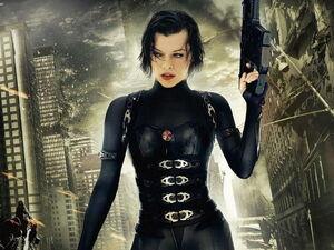 Alice in Resident Evil 5