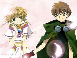 Syaoran and Sakura 2