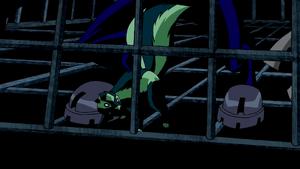 Beast Boy as Skunk