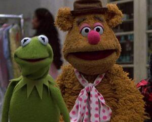 Kermit Fozzie grin