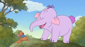 Pooh's Heffalump Movie - Lumpy and Roo