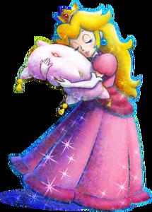 Princess Peach Artwork - Mario & Luigi Dream Team