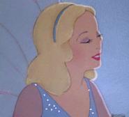 The Blue Fairy's loving smile