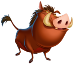 Pumbaa Diamond Edition art