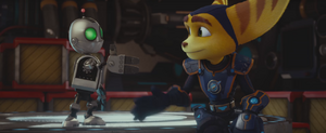 Ratchet and Clank Shake Hands