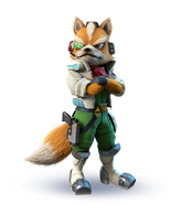 Fox McCloud Starlink