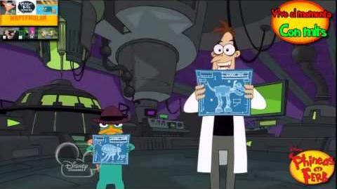 """Phineas y Ferb """"Con los planos"""""""