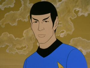 Animated spock