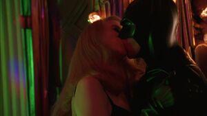 Batman & Chase's kiss