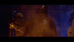Darth Vader stops