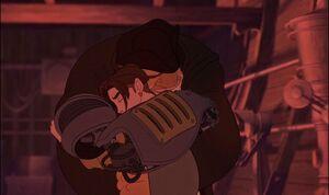 Jim and Silver Hug.