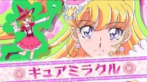 Mahou Tsukai Precure The Movie Mirai Cure Miracle Opening