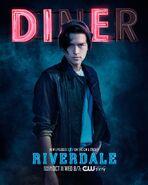 Season 2 'Diner' Jughead Jones Promotional Portrait