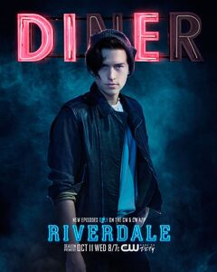 Season 2 'Diner' Jughead Jones Promotional Portrait