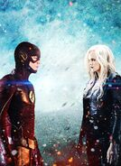 Flash vs killer frost by russianet-daxtpmk