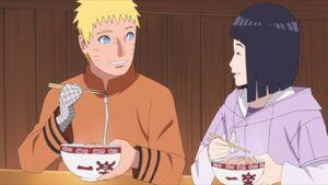 Naruto & Hinata eating Raman
