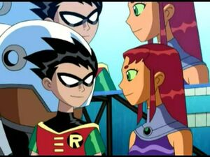 Robin♥Starfire