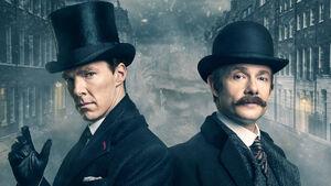 Sherlock and John- Victorian England