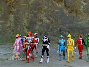 TvT Power Rangers Operation Overdrive 20 Once A Ranger double length TDIS-usotsuki 97187