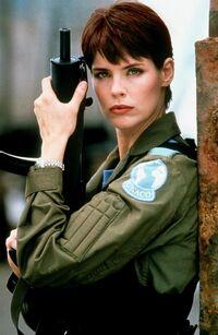 Alexanra Paul as Sabrina Carver in Detonator 2 - Night Watch