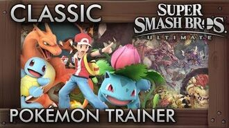 Super Smash Bros. Ultimate- Classic Mode - POKÉMON TRAINER - 9.9 Intensity No Continues